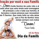 Oração por você e sua Família