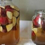 Como preparar o melhor vinagre de maça caseiro