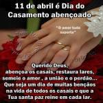 Dia do Casamento Abençoado