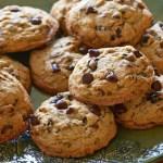 Cookies de Baunilha e Chocolate