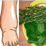 Este é o remédio mais poderoso para aliviar o inchaço dos pés, 100% natural