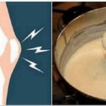 Poderosa receita para dor nos joelhos, ossos e articulações