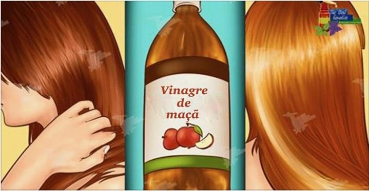 Aqui está como lavar o seu cabelo com o vinagre de maçã – todos vão querer saber o seu segredo