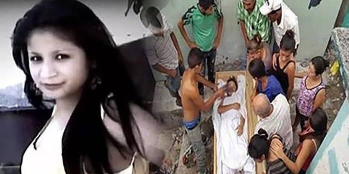 Um dia após funeral da esposa, ele ouve ruídos e descobre que ela foi enterrada viva
