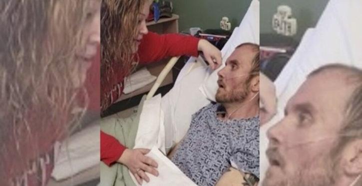 Vídeo emocionante mostra mulher cantando música preferida de marido antes dele perder a vida
