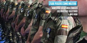 oferta publica de empleo como militar