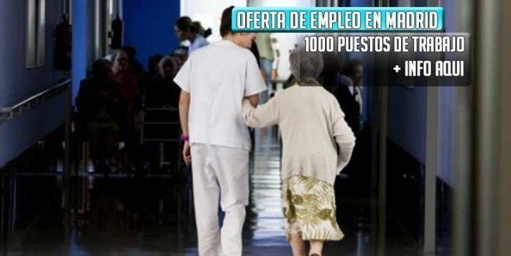 oferta de trabajo para residencia de ancianos en Madrid