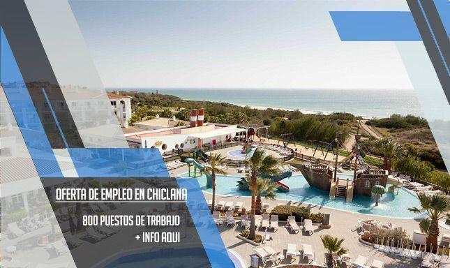 oferta de empleo para la reforma de un hotel en Chiclana