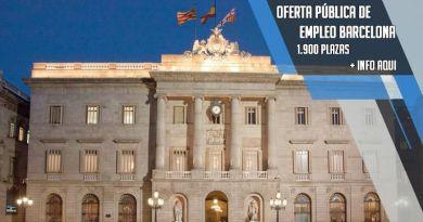 Barcelona lanza una oferta de empleo público con 1900 plazas