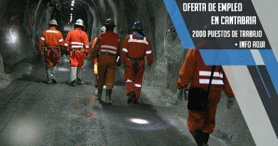 La mina de Zinc del Besaya creará 2000 empleos en Cantabria