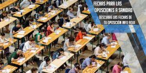 fecha examenes oposiciones a sanidad