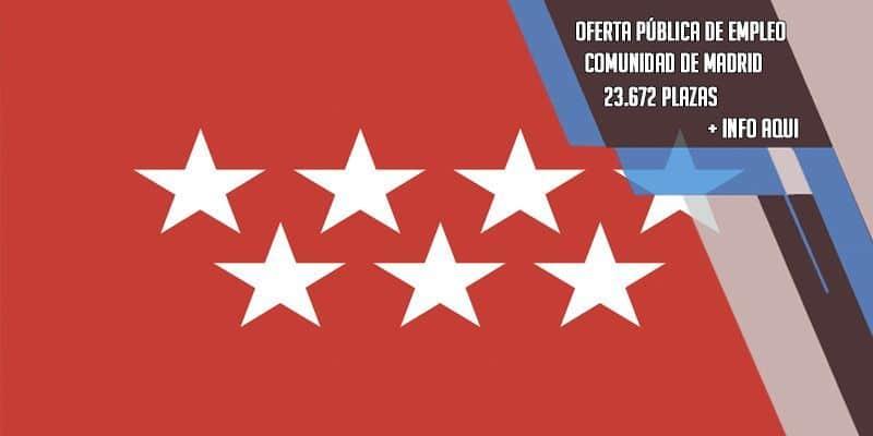 oferta publica de empleo en la Comunidad de Madrid