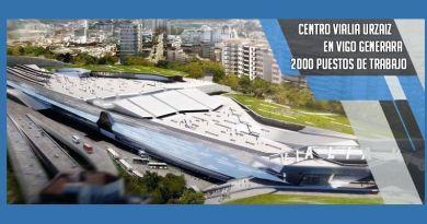 Centro Vialia generará 2000 empleos en Vigo