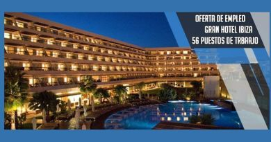 Ibiza Gran Hotel oferta 56 empleo para la temporada