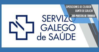 La Xunta de Galicia oferta 390 plazas como celadores