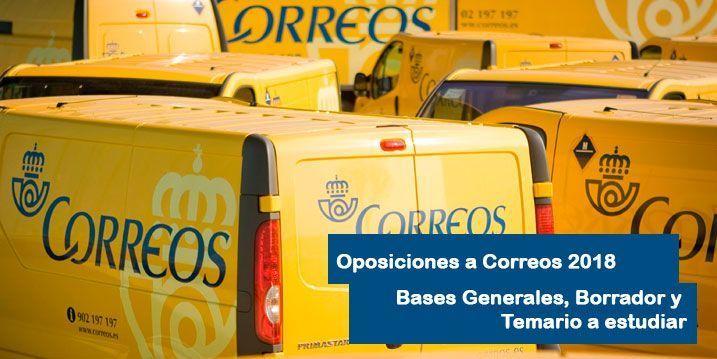 Bases generales oposiciones a correos 2018