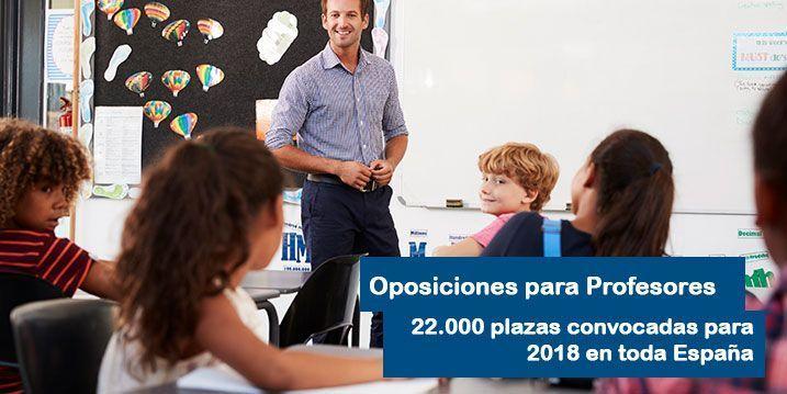 Oposiciones para profesores 2018