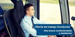 Oferta de empleo para conductores en Alsa