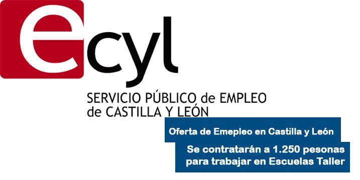 ECYL contratará a 1.250 personas para trabajar en Escuelas Taller
