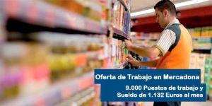Ofertas de empleo en Mercadona para verano