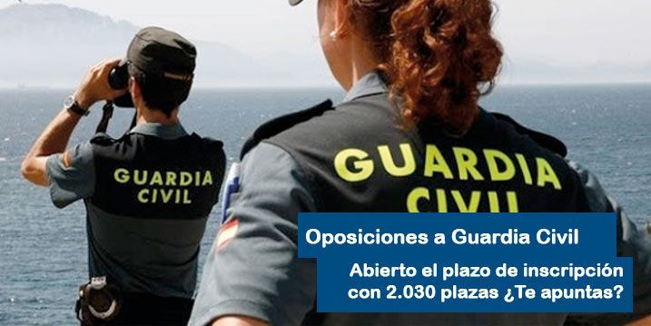 Oposiciones a Guardia Civil 2018