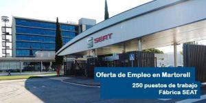 Seat ofertará 250 puestos de trabajo en Martorell