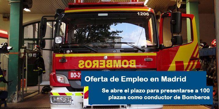 Oposiciones al Cuerpo de Bomberos en Madrid