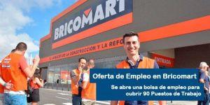 Oferta de empleo Bricromart en Salamanca