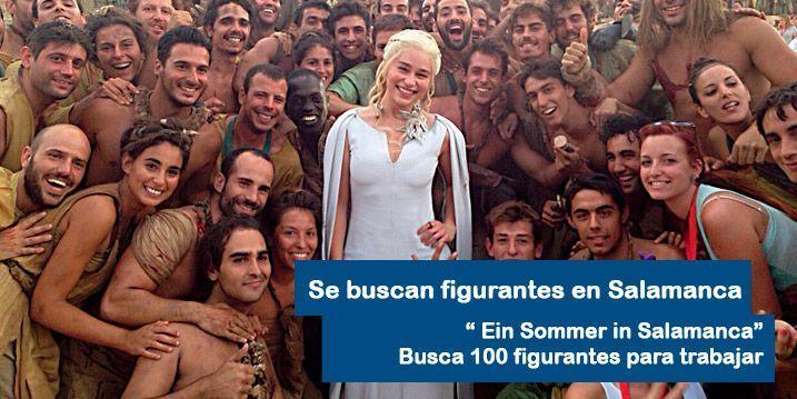 Ein Sommer in Salamanca busca 100 figurantes en Salamanca