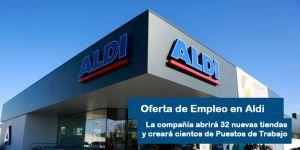 Ofertas de empleo para trabajar en Aldi
