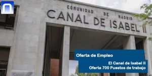 Empleo Canal Isabel II