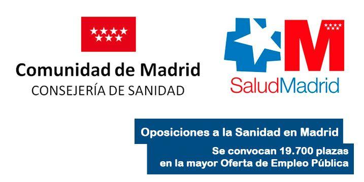 oposiciones sanidad madrid 2018