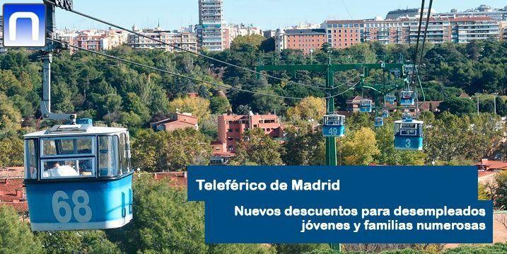 descuento teleférico Madrid
