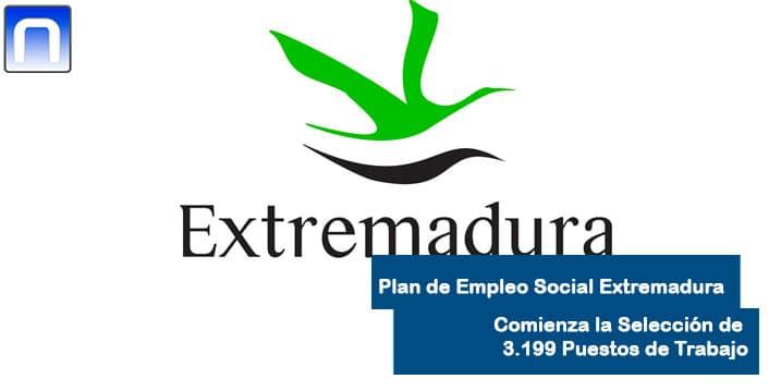 plan de empleo social Extremadura