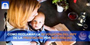 devolución irpf prestación por maternidad