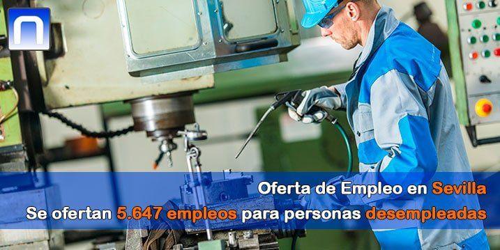oferta de empleo en Sevilla