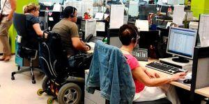 trabajo para personas con discapacidad