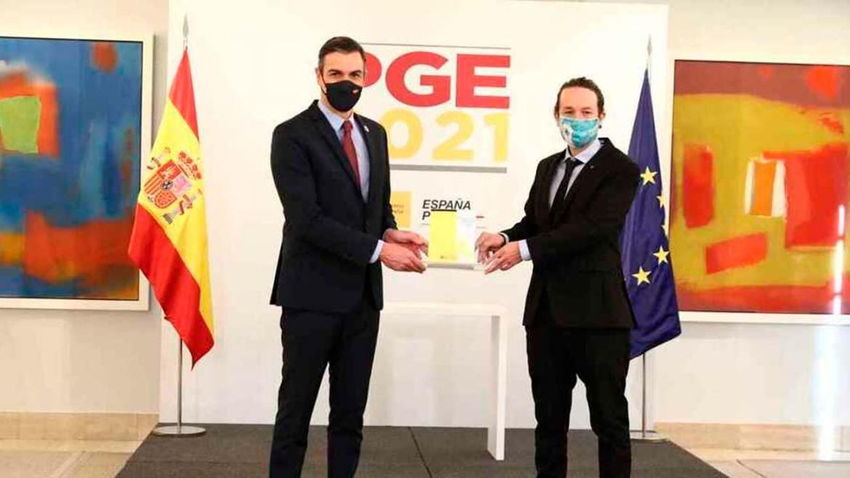 Acuerdo PSOE y Podemos para agilizar el cobro del Ingreso Minimo Vital y regulacion del precio del alquiler