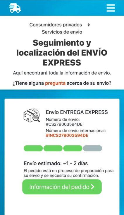 estafa correos express 2