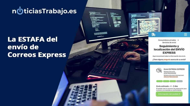 Estafa del envio de Correos Express que puede robar tus datos y tu dinero