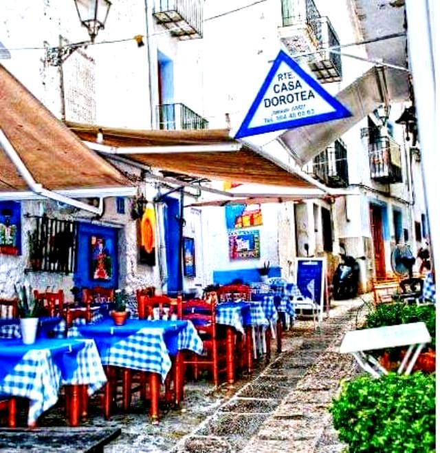restaurante casa dorotea peñiscola