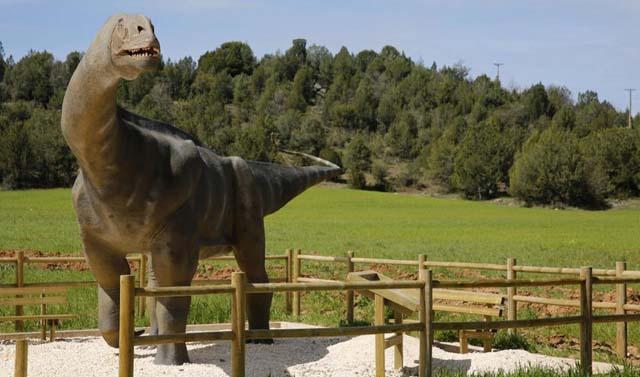 Museo Paleontologico de Salas de Los Infantes en Burgos