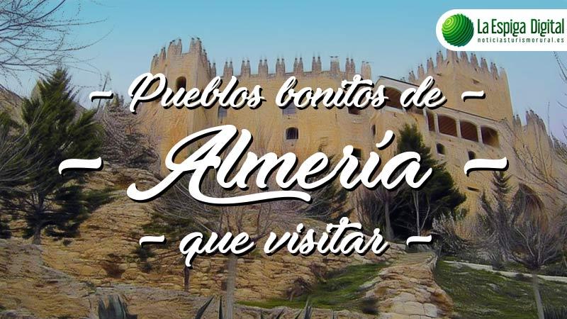 6 Pueblos Bonitos de Almería que visitar