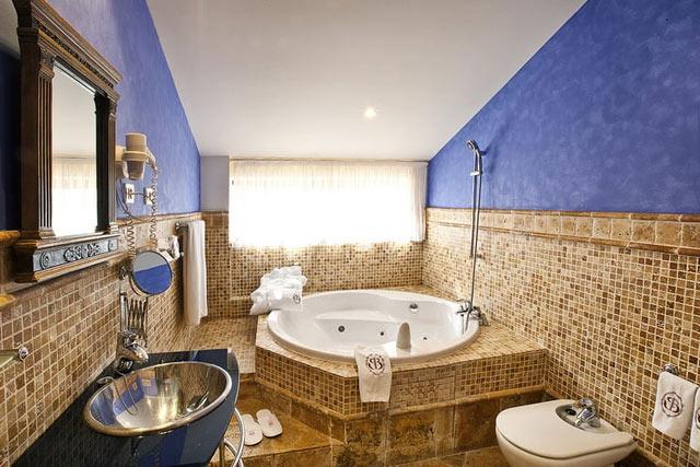 hoteles jacuzzi privado habitacion palacio sonanes