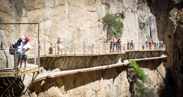 El Caminito del Rey amplía su recorrido con tres nuevas rutas