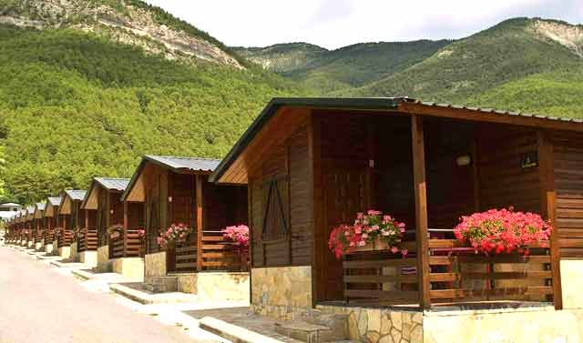 mejores campings huesca camping valle tena