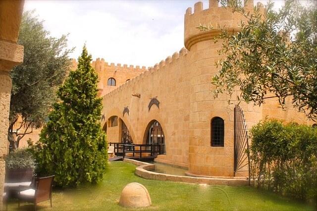 mejores hoteles jacuzzi zaragoza castillo bonavia