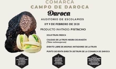 Daroca celebra la III Jornada de la Trufa Negra