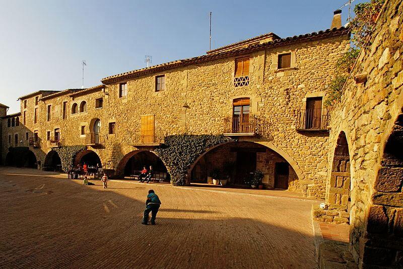 Dura caída del turismo rural de Girona en diciembre