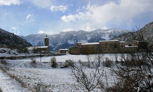 Duro descenso del turismo rural de Lleida en diciembre